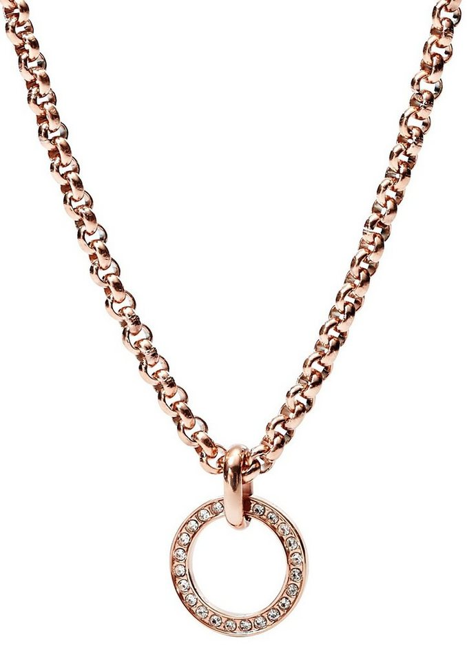 Fossil Charm-Kette, »JF01893791« in roségoldfarben