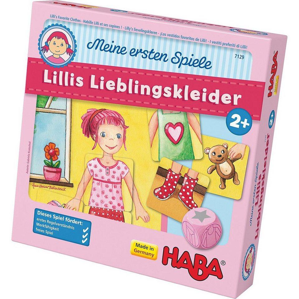Haba Meine ersten Spiele - Lillis Lieblingskleider