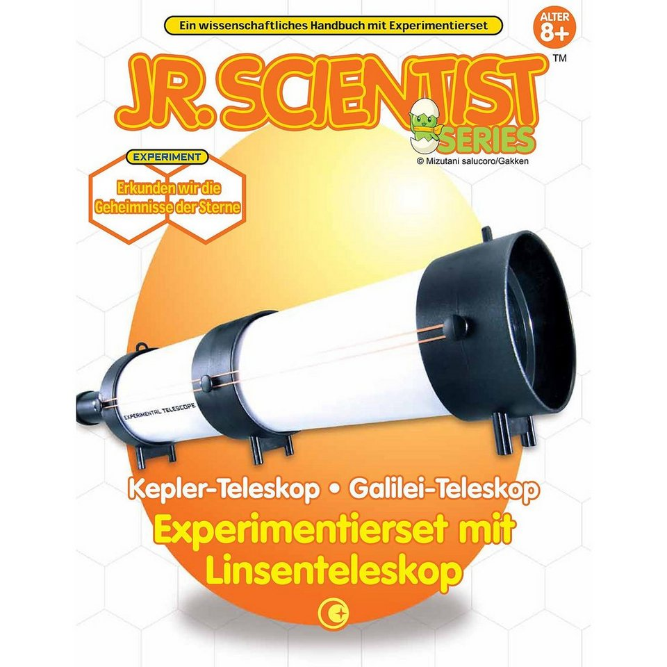 Edu-Toys Experimentierset mit Linsenteleskop