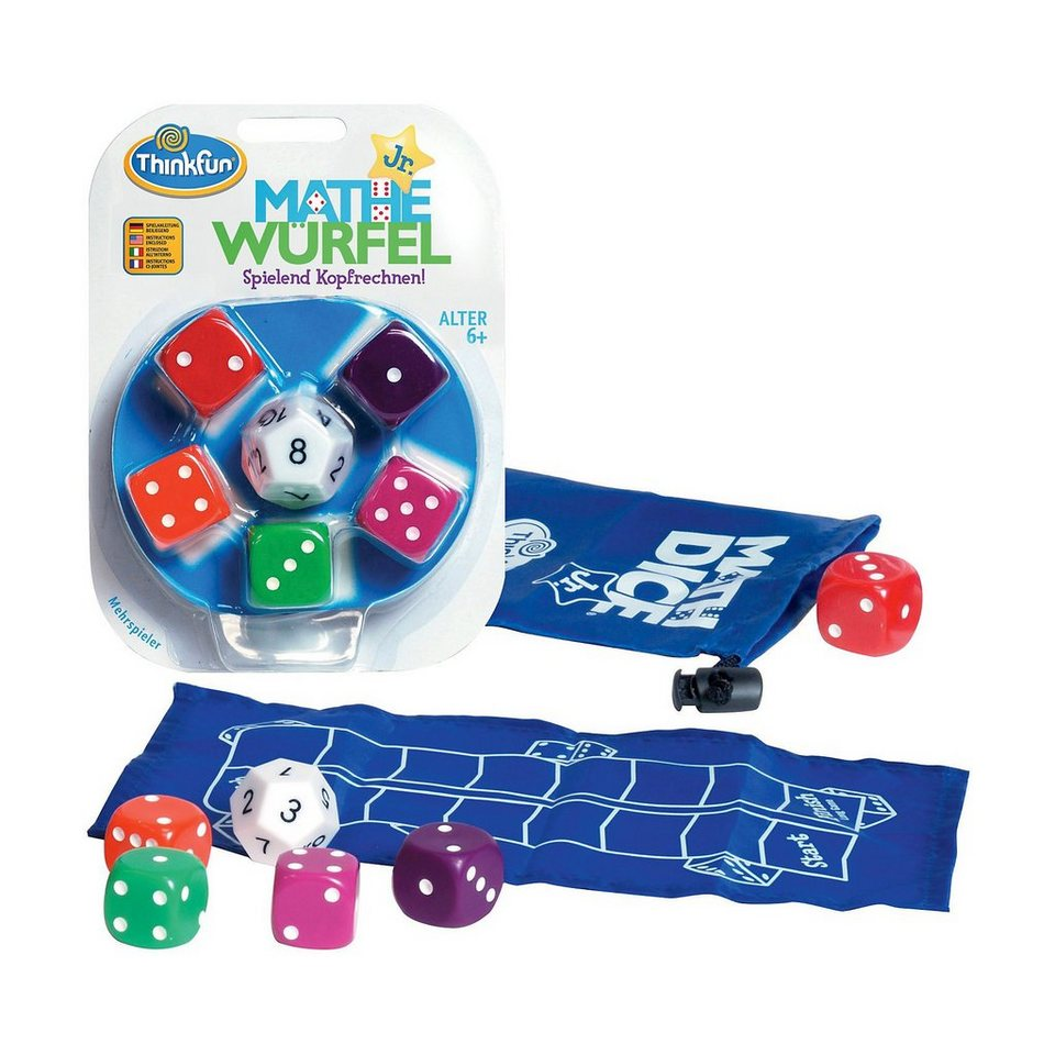 Thinkfun Mathe Würfel Junior - Rechenspiel (deutsch)