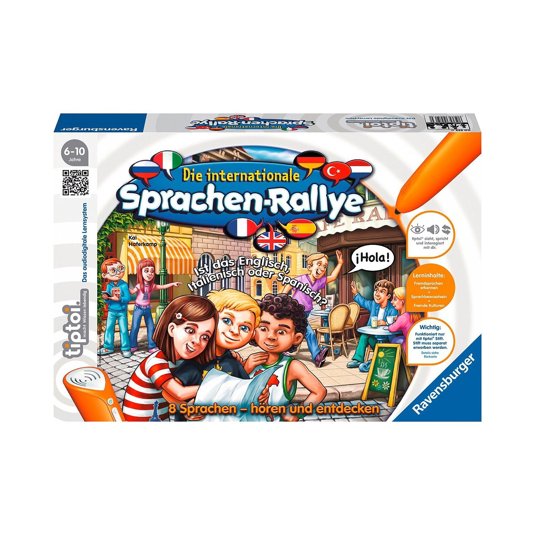 Ravensburger tiptoi: Die internationale Sprachen-Rallye (ohne Stift)