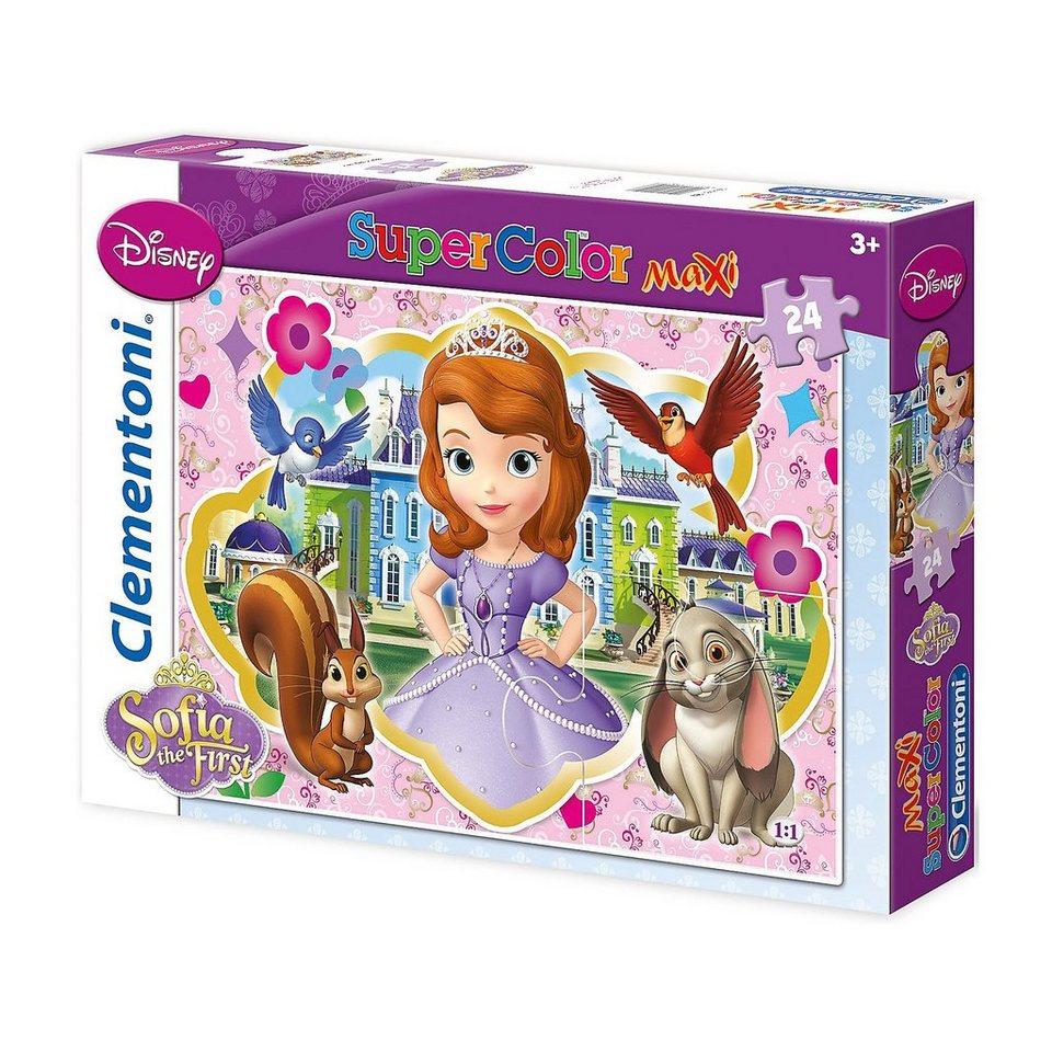 Clementoni Puzzle - 24 Teile Maxi - Sofia die Erste