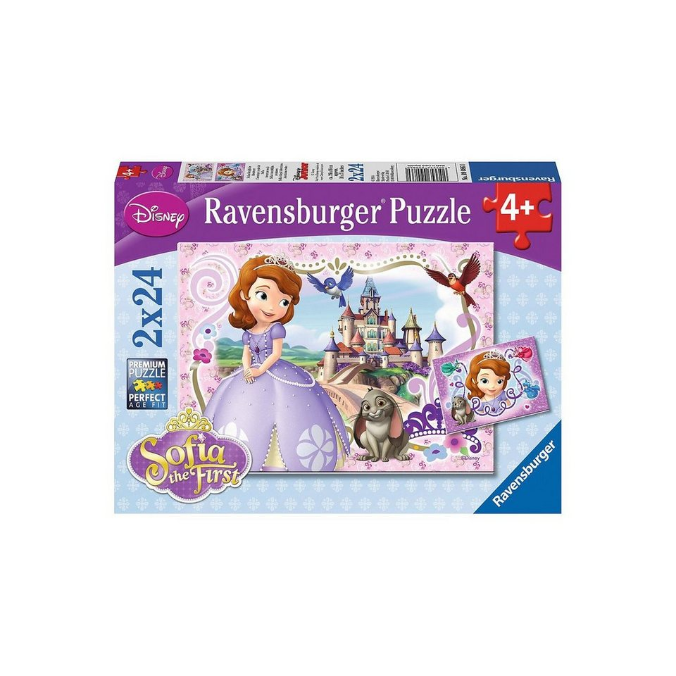 Ravensburger Puzzle Disney Sofia, die Erste: Sofias königliche Abenteuer