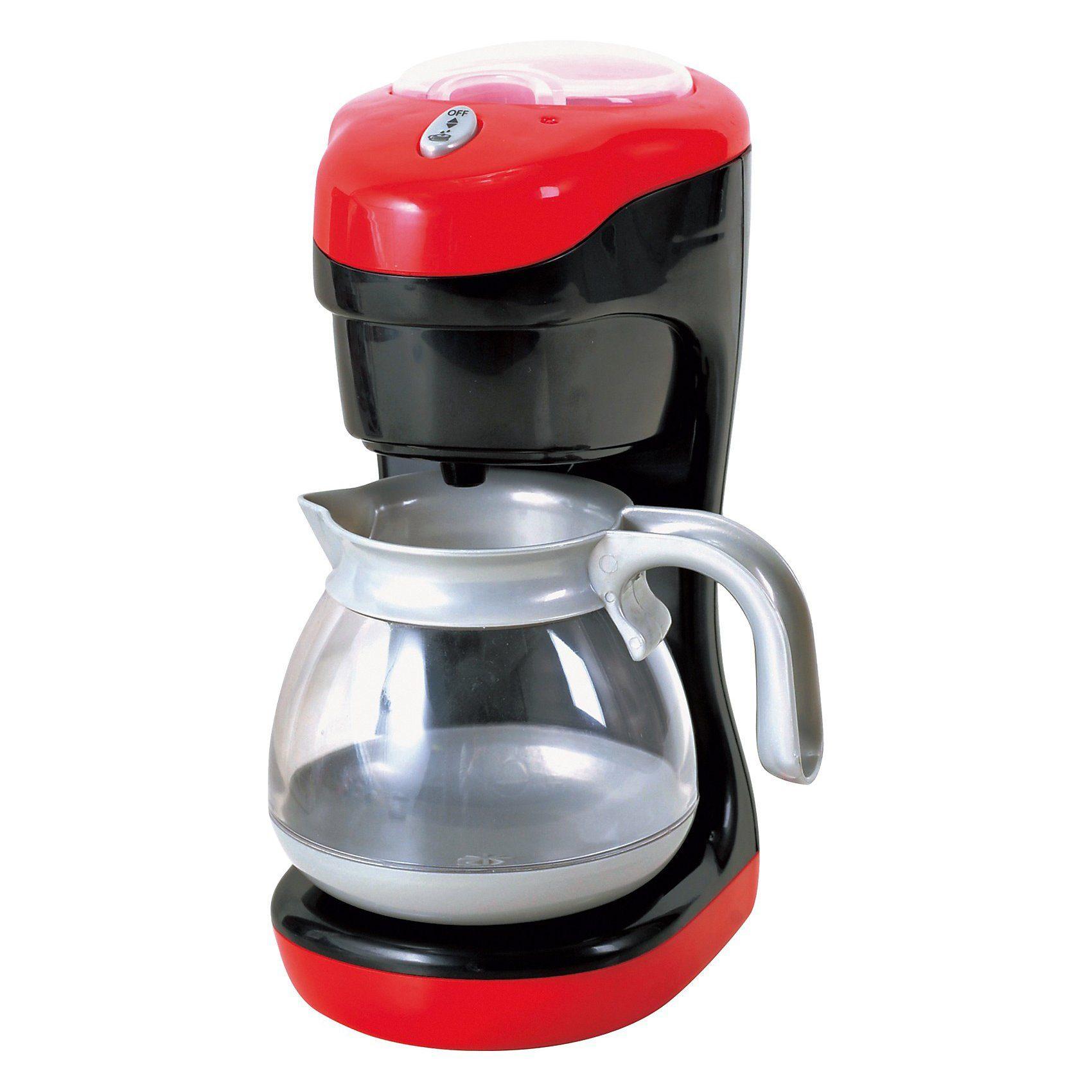 Playgo Meine Kaffeemaschine, rot- schwarz Küchengerät