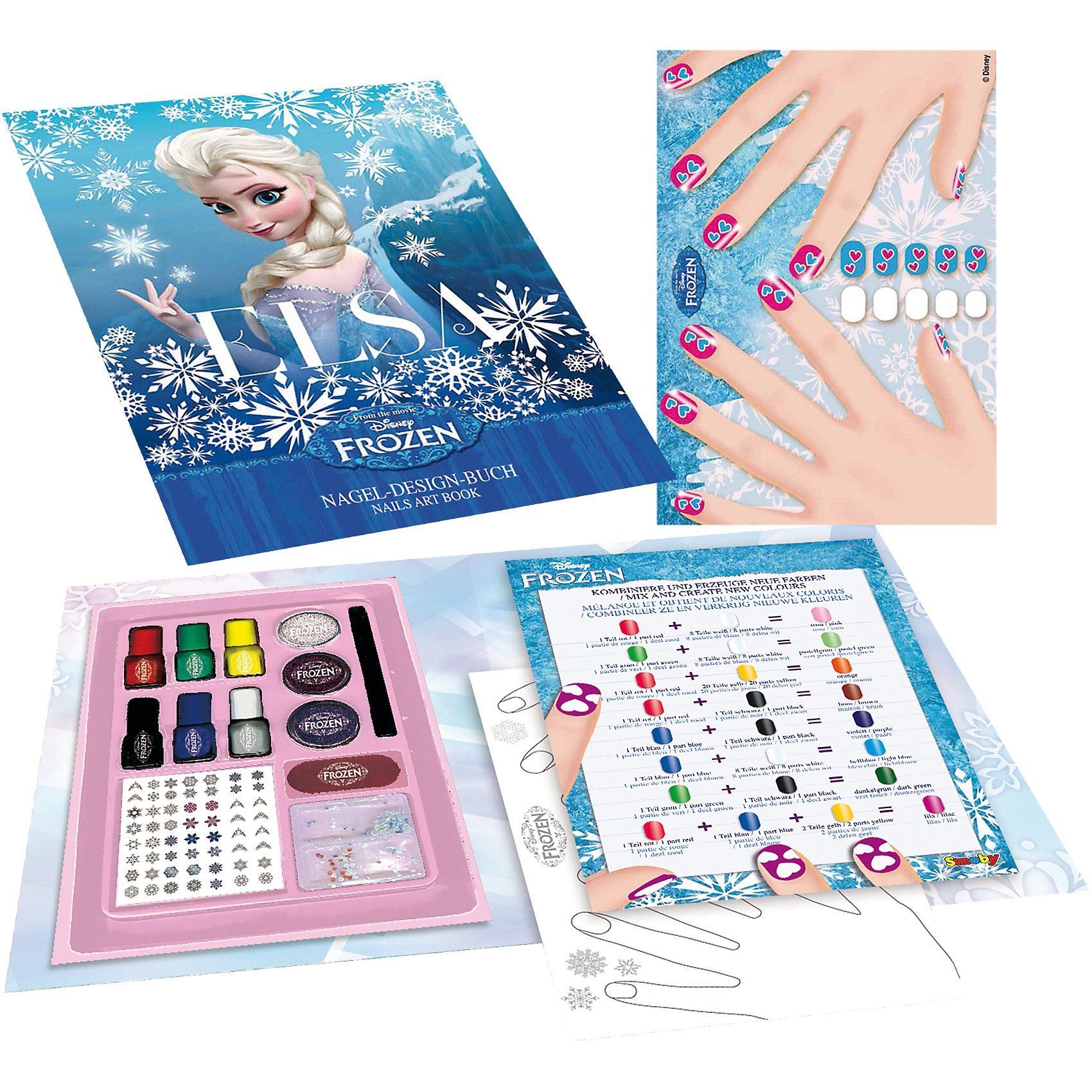Smoby Die Eiskönigin Nail Art Buch