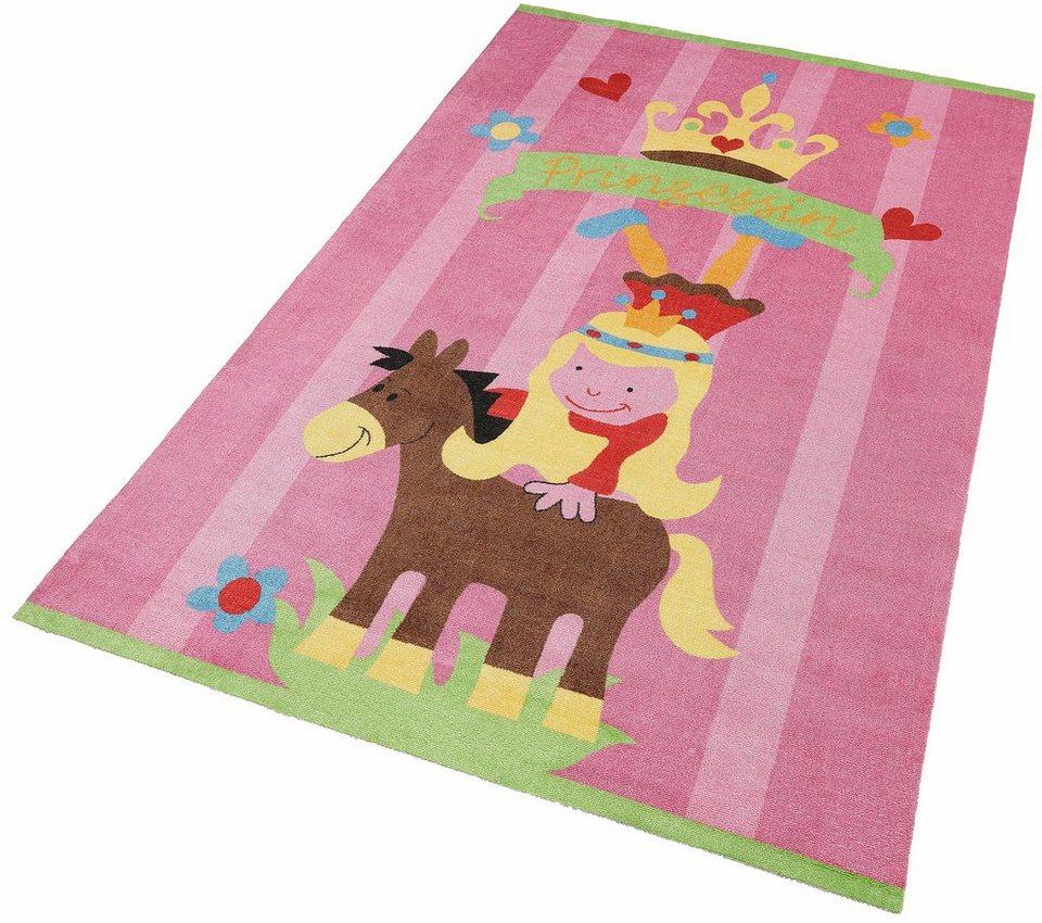 Kinderteppich »Mamba3«, Theko, rechteckig, Höhe 12 mm in rosa-pink