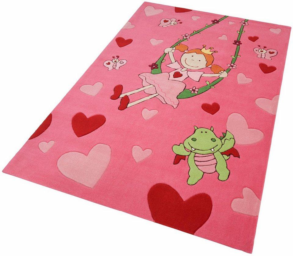 KinderTeppich, Sigikid, »Pinky Queeny«, handgearbeitet