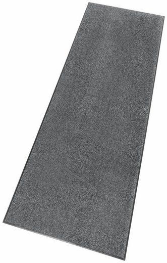 Läufer »Uni«, Salonloewe, rechteckig, Höhe 7 mm, In- und Outdoor geeignet, waschbar