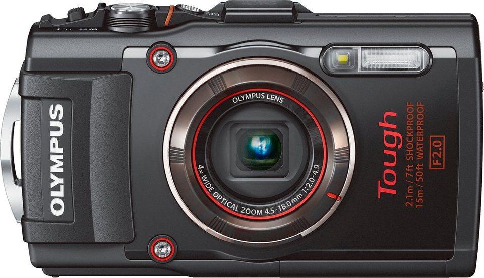 Olympus TG-4 Outdoor Kamera, 16 Megapixel, 4x opt. Zoom, 7,6 cm (3 Zoll) Display