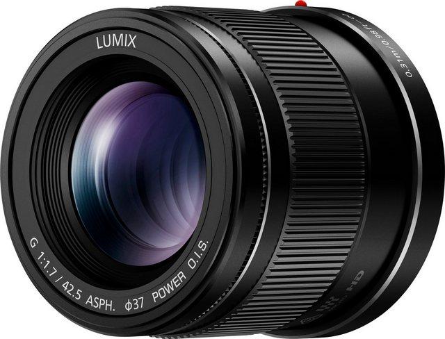 Objektive - Panasonic »H HS043E K« Festbrennweiteobjektiv  - Onlineshop OTTO