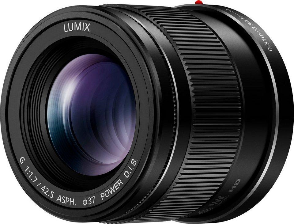 Panasonic H-HS043E-K Festbrennweite Objektiv in schwarz