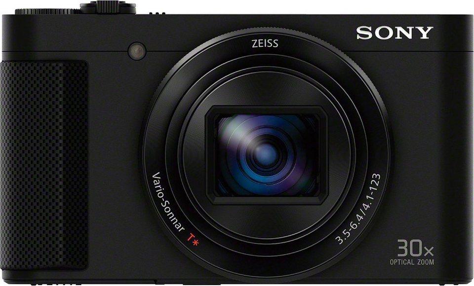 Sony Cyber-Shot DSC-HX90 Kompakt Kamera, 18,2 Megapixel, 30x opt. Zoom, 7,5 cm (3 Zoll) Display in schwarz