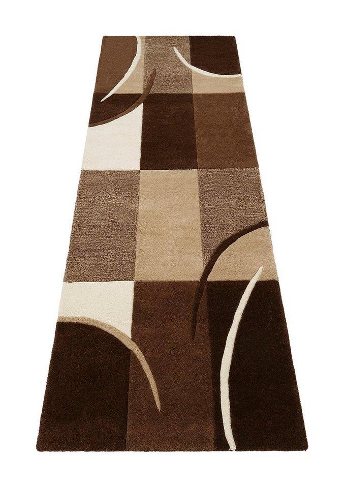 Läufer »Magnus«, Theko exklusiv, rechteckig, Höhe 13 mm in braun