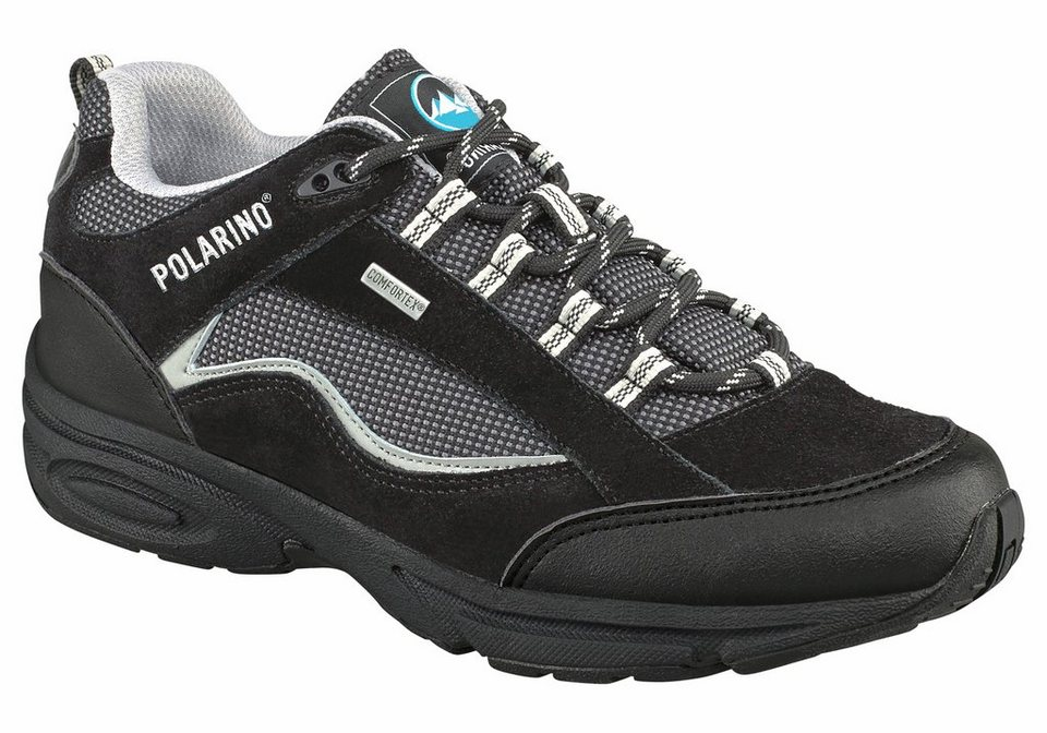 Polarino Visionary Outdoorschuh in Schwarz