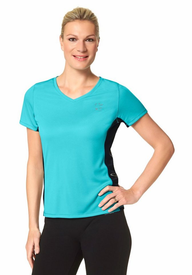 Maria Höfl-Riesch Funktions-T-Shirt in Türkis
