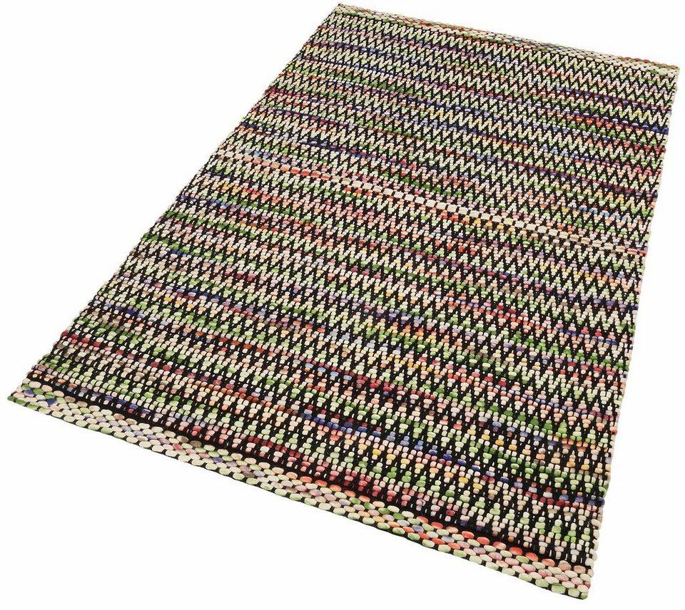 Teppich »Modern Weave 3«, Theko, rechteckig, Höhe 7 mm in terra