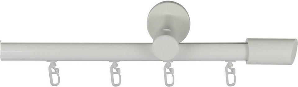 Gardinenstange, Garesa, »Molis«, mit Innenlauf, nach Maß, ø 20 mm in weiß