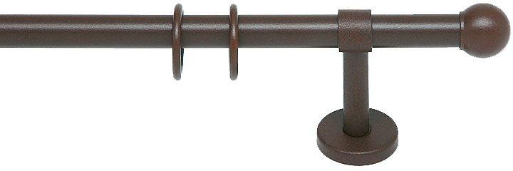 Gardinenstange, Indeko, »Neapel«, nach Maß, ø 20 mm in rost