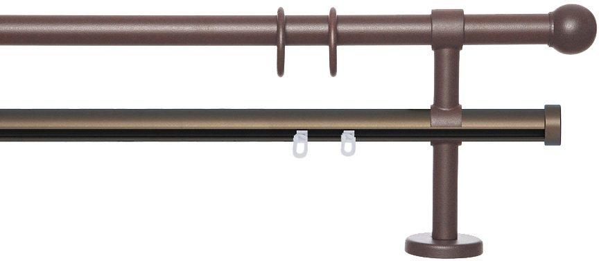 gardinenstange braun preisvergleiche erfahrungsberichte und kauf bei nextag. Black Bedroom Furniture Sets. Home Design Ideas