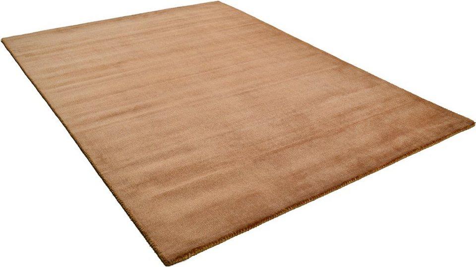 Teppich »Melbourne 1000«, Theko, rechteckig, Höhe 12 mm in braun