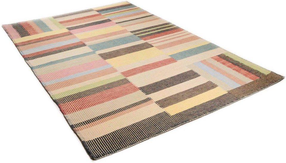teppich tom tailor patch handgearbeitet wolle online. Black Bedroom Furniture Sets. Home Design Ideas