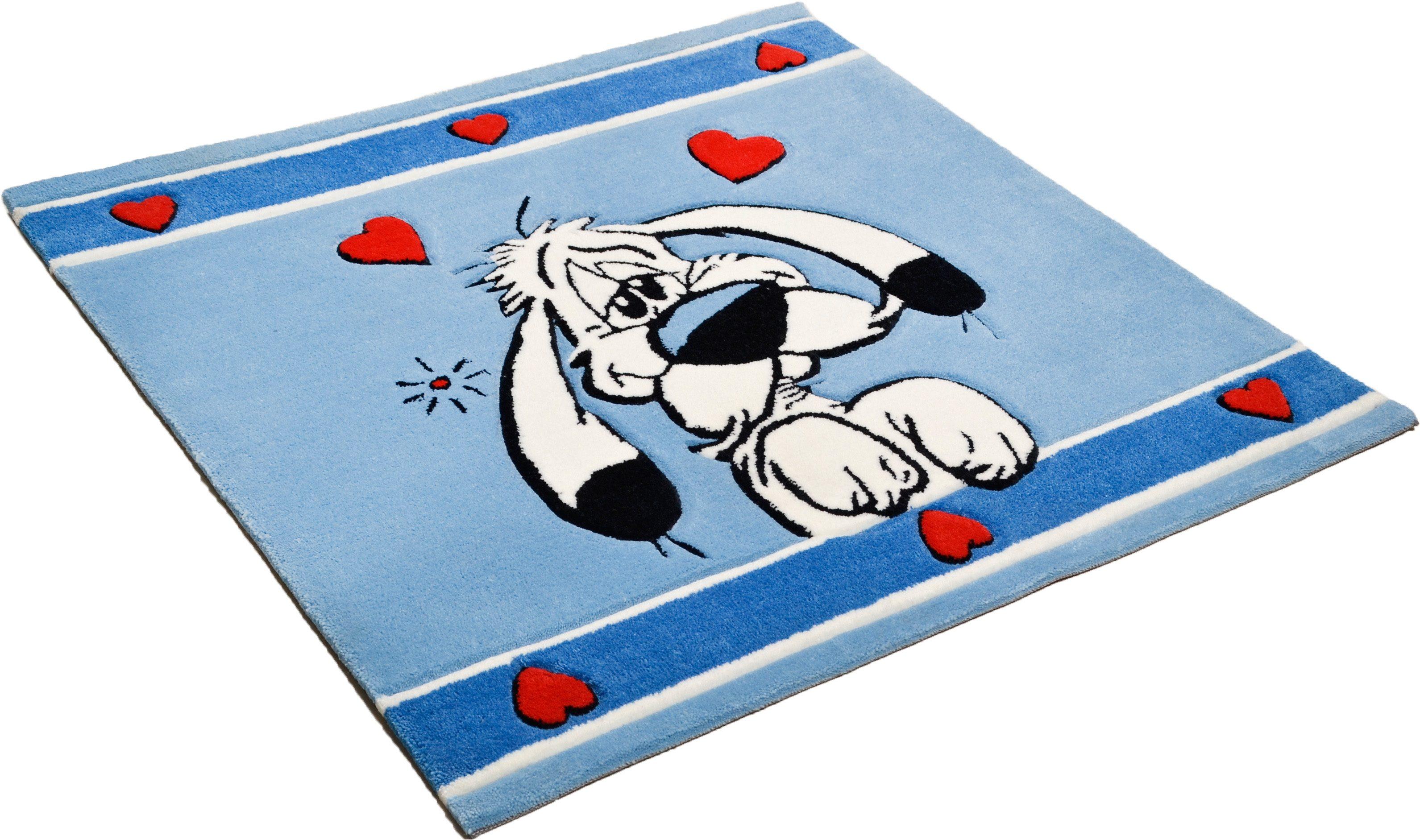 Kinder-Teppich, Asterix, »Der verliebte Idefix«, handgearbeitet