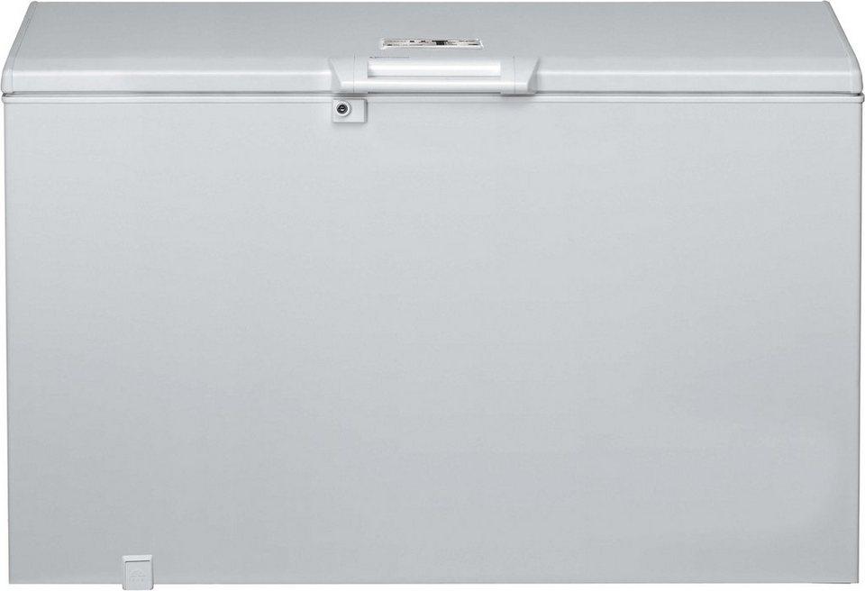 Bauknecht Gefriertruhe GTE 335 StopF A++, 118 cm breit in weiß