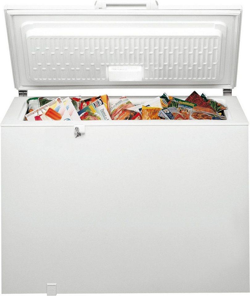 Bauknecht Gefriertruhe GTE 822 A+++, 118 cm breit in weiß