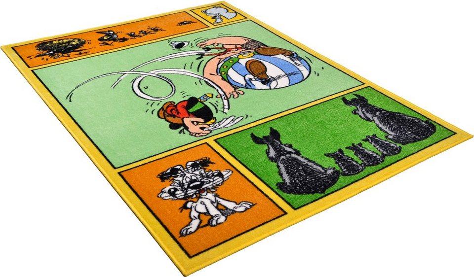 Kinder-Teppich, Asterix, »Das kleine Comic« in grün