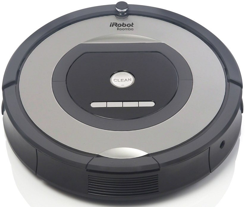 irobot saugroboter roomba 772e beutellos grau otto. Black Bedroom Furniture Sets. Home Design Ideas