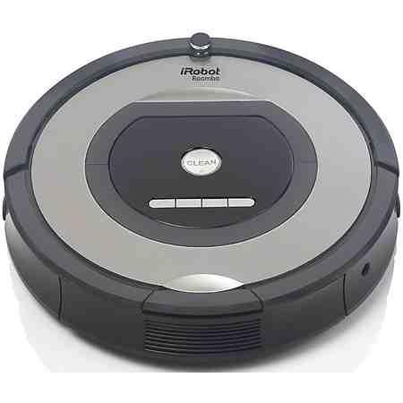 iRobot Saugroboter Roomba 772e, beutellos, grau