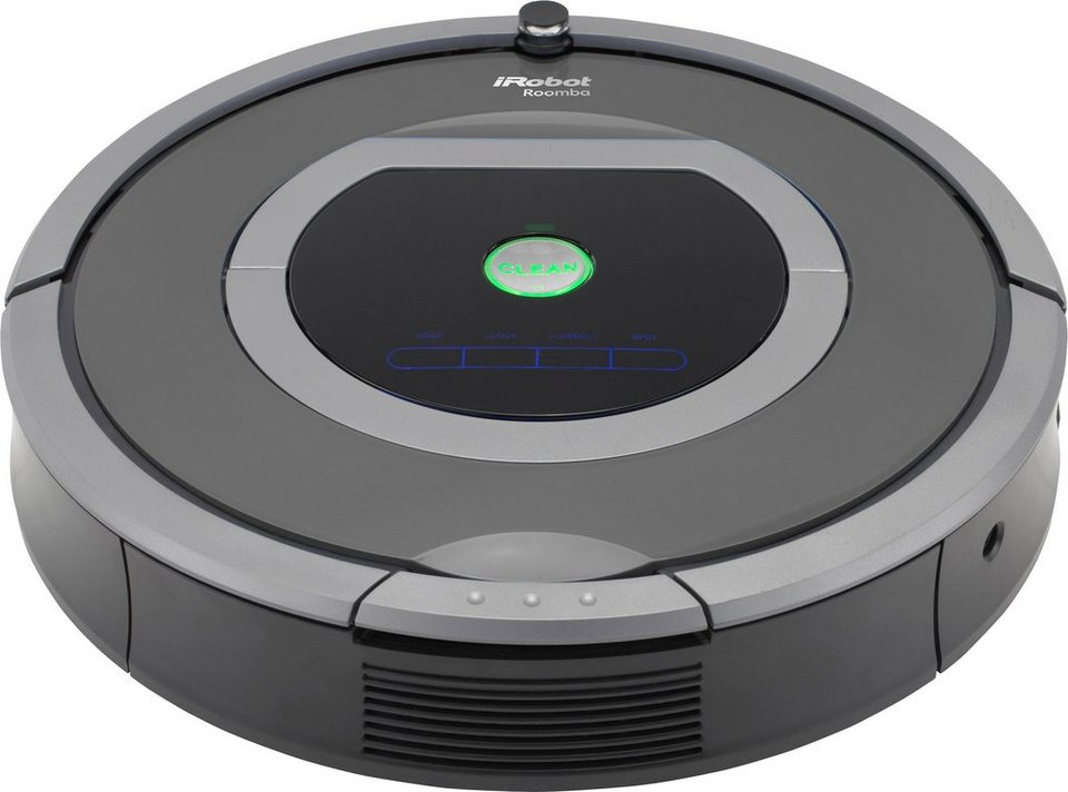 irobot saugroboter roomba 782e beutellos schwarz grau online kaufen otto. Black Bedroom Furniture Sets. Home Design Ideas