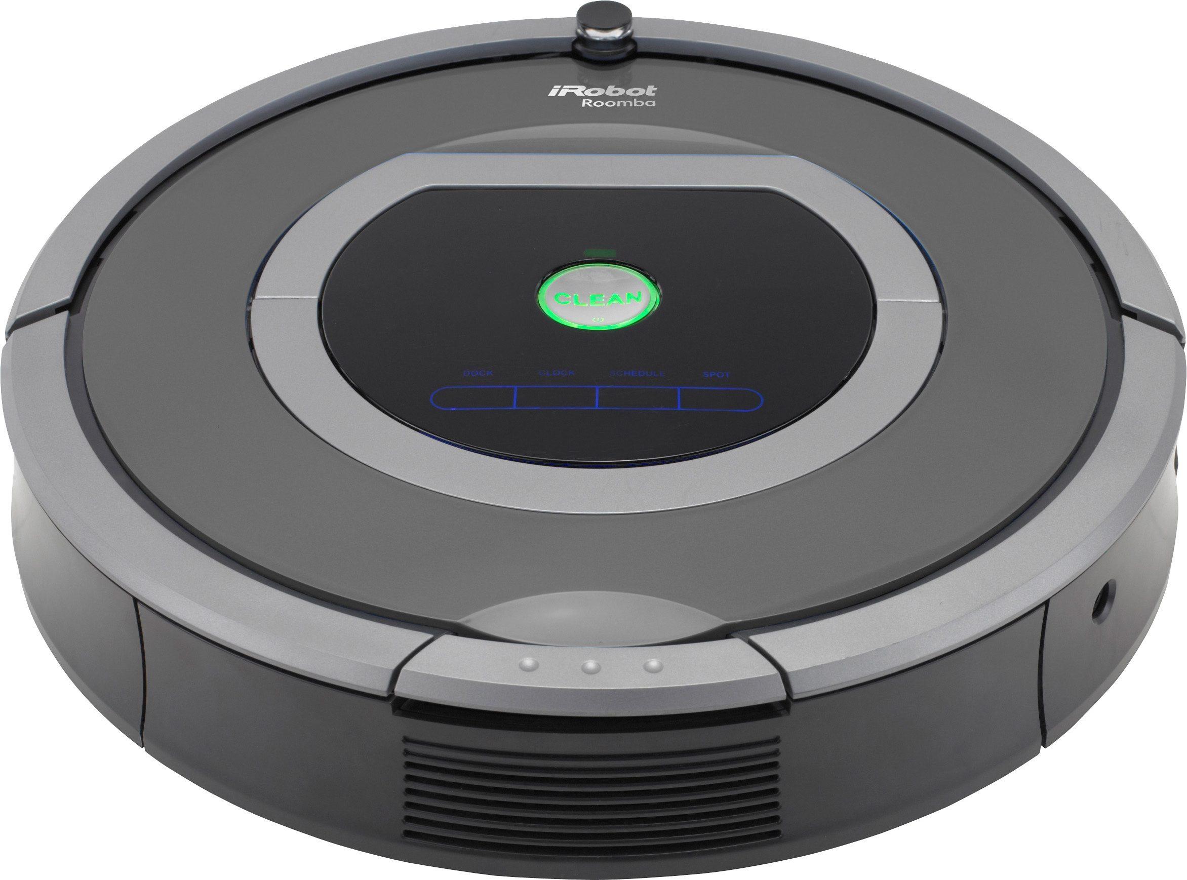 iRobot Saugroboter Roomba 782e, beutellos, schwarz/grau