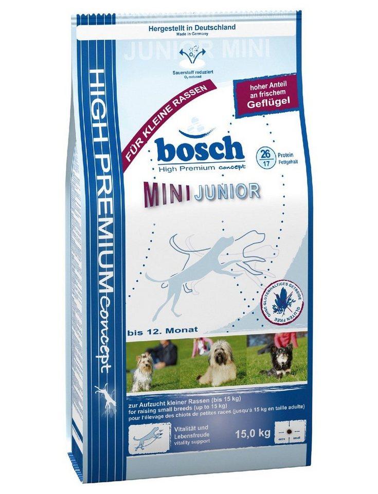 Hundetrockenfutter »Mini Junior«, 3 kg oder 15 kg in braun