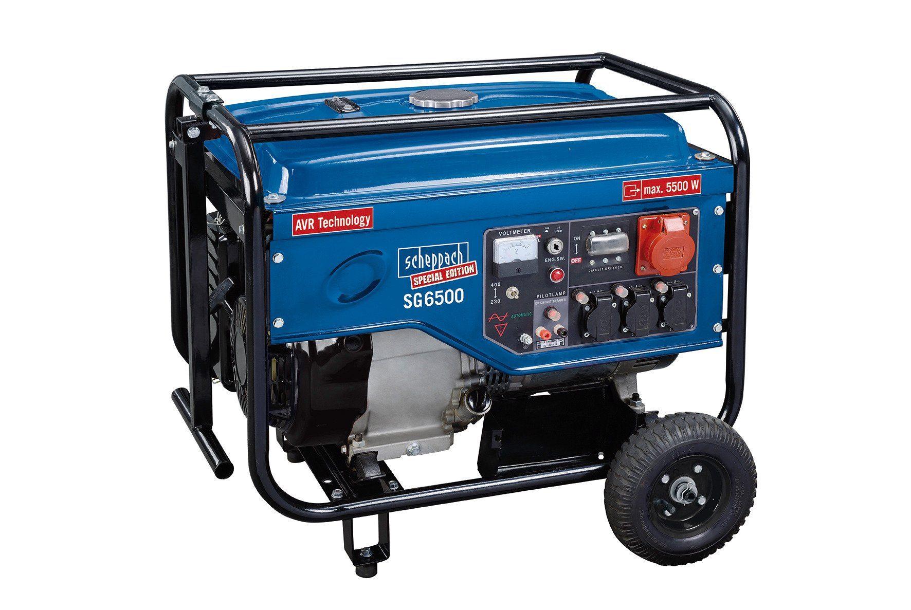 Scheppach Stromerzeuger »SG6500«
