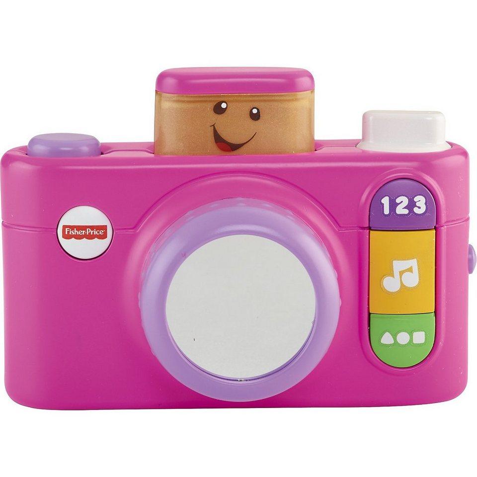 Mattel Fisher-Price Lernspaß - Klick und Lern Kamera (pink, deutsch