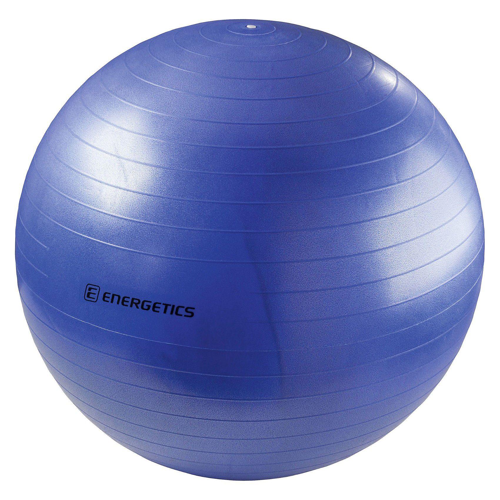 Energetics Gymnastikball mit Pumpe