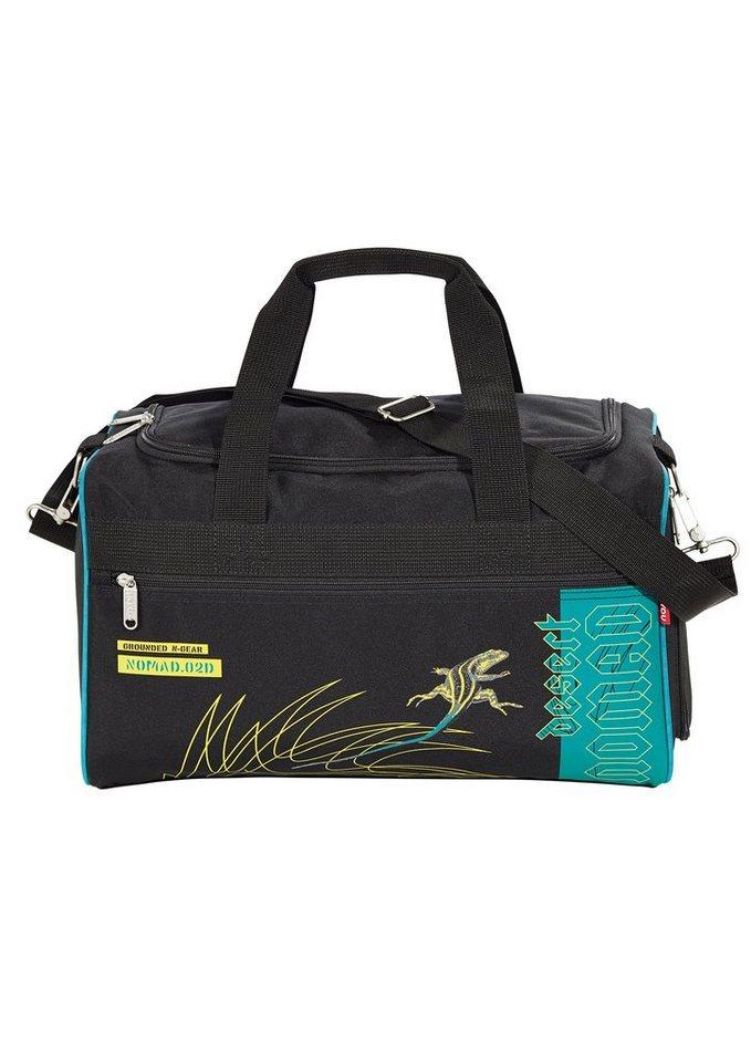 4YOU Tasche, »Freizeittasche M - Desert Nomad« in schwarz