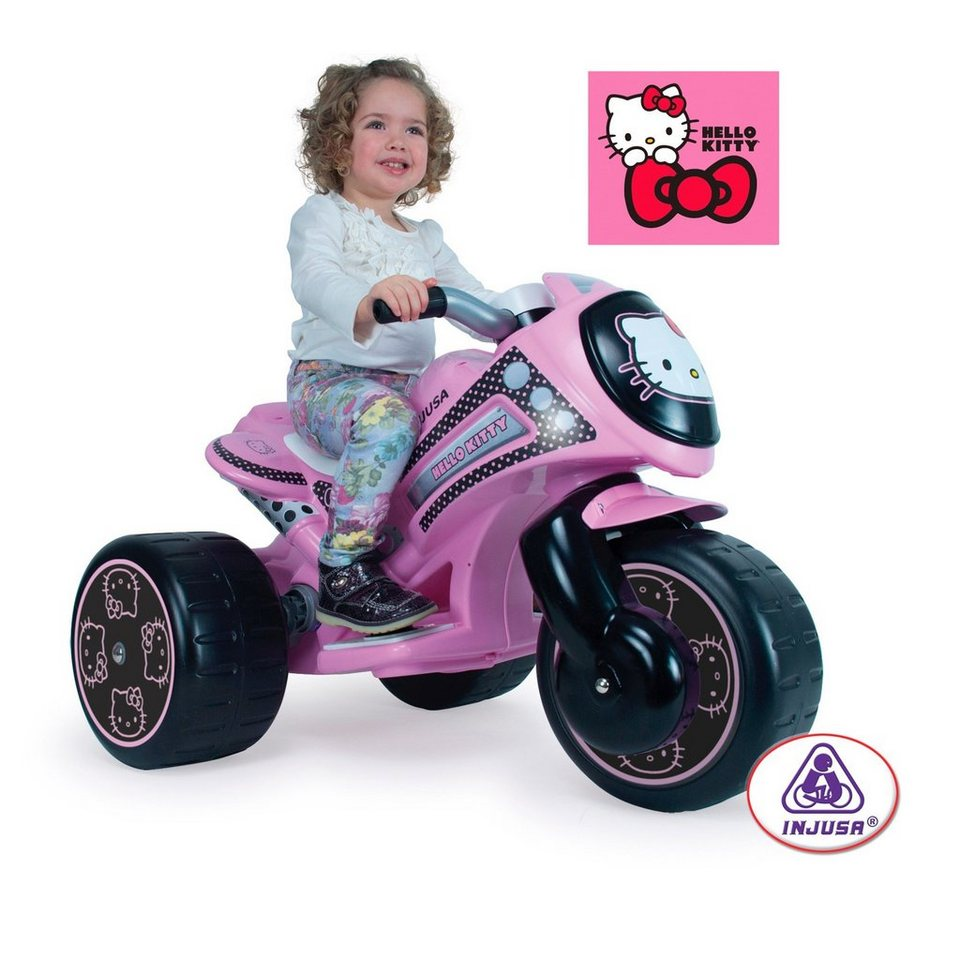 INJUSA Elektro-Trike in rosa