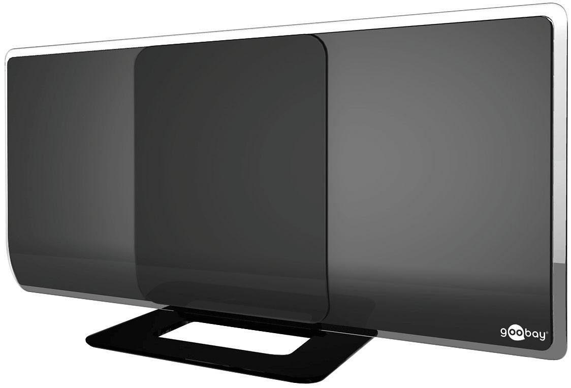 goobay Aktive Full HD DVB-T Zimmerantenne »zum Empfang von DVB-T/DVB-T2 und DAB«