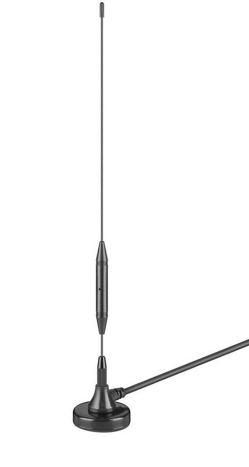 goobay Passive DVB-T Zimmerantenne »3 dB Antenne zum Empfang von DVB-T/DVB-T2 Programm« in schwarz