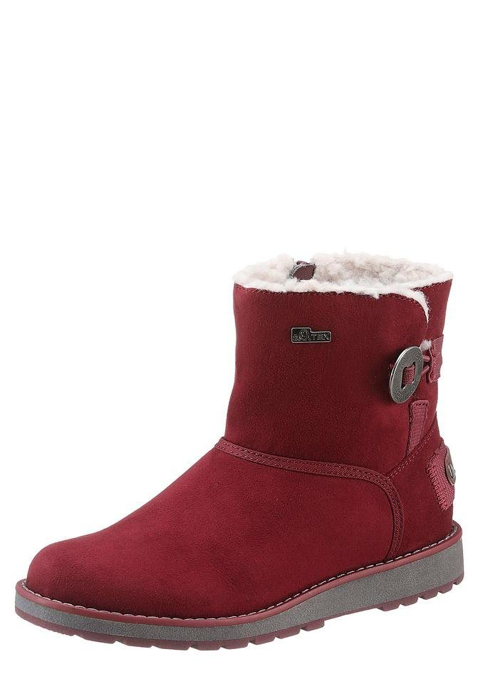 s.Oliver Boots mit s.Oliver Soft Foam in bordeaux