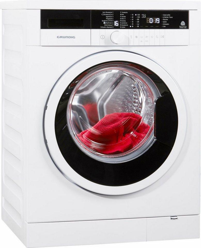grundig waschmaschine gwn37431 a 7 kg 1400 u min online kaufen otto. Black Bedroom Furniture Sets. Home Design Ideas