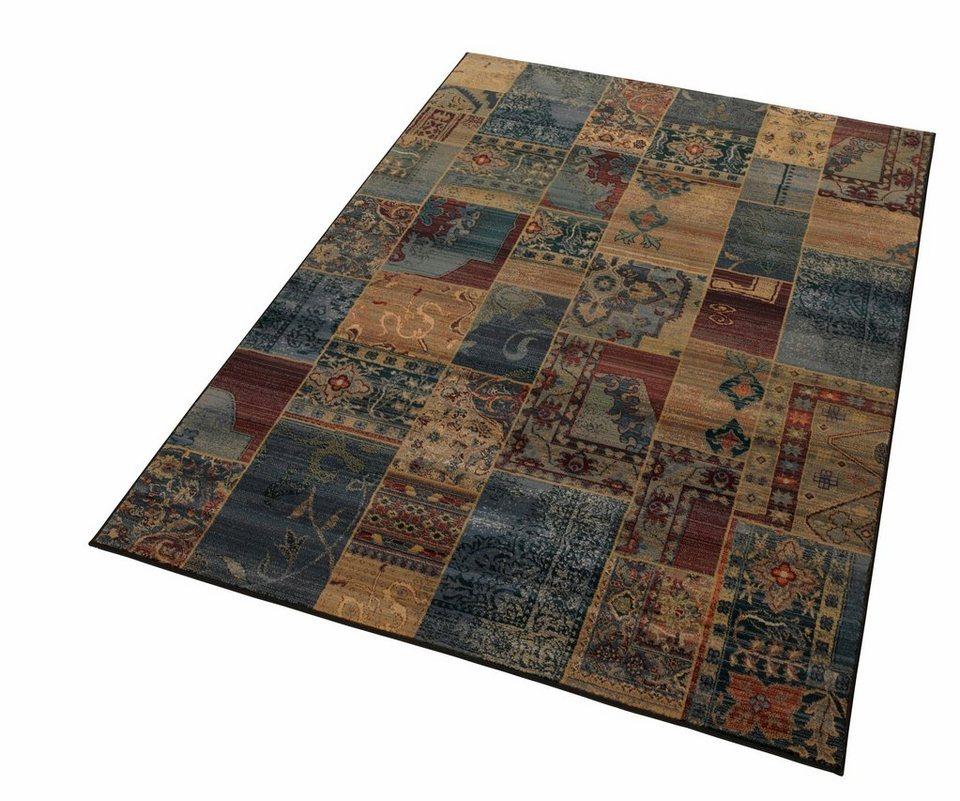 Orientteppich blau  Orient-Teppich, Oriental Weavers, »Idfu«, Melange-Effekt, gewebt ...