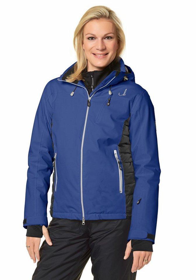 Maria Höfl-Riesch Skijacke in Blau