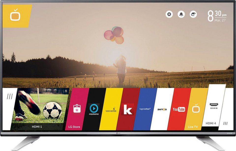 LG 60UF7729, 151 cm (60 Zoll), 2160p (4K Ultra HD) LED Fernseher in grau
