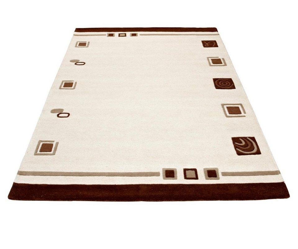 Teppich »TULSIPUR«, Theko exklusiv, rechteckig, Höhe 13 mm in creme