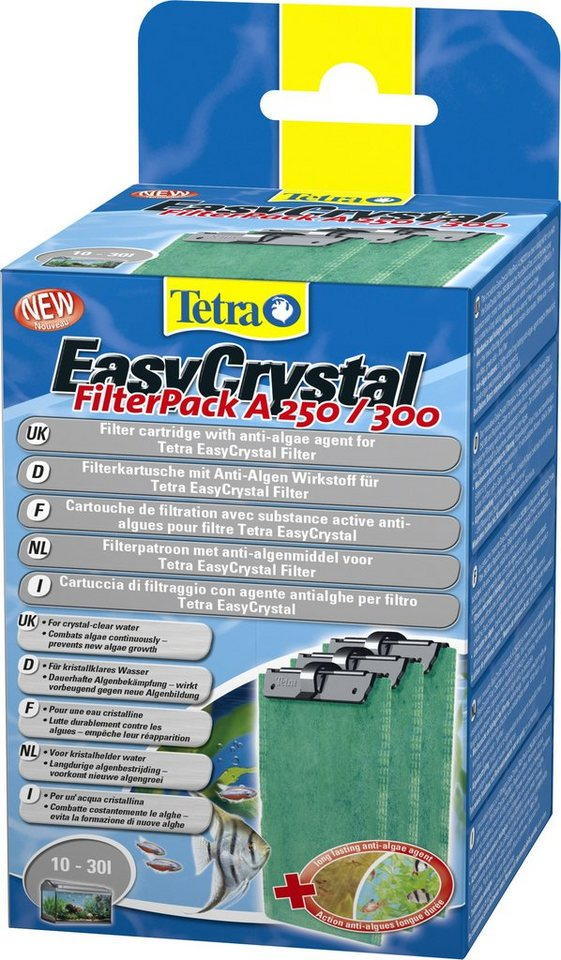 Tetra Aquariumpflege »EasyCrystal Filter Pack« 2-er Set in grün