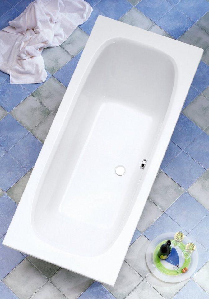 ottofond badewanne malta breite tiefe in cm 170 75 oder 180 80 mit wannentr ger online. Black Bedroom Furniture Sets. Home Design Ideas