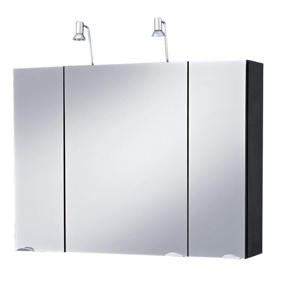 Spiegelschrank »Lucca«, Breite 90 cm in anthrazit